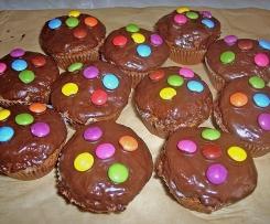Muffins smarties banane régime