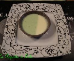 Crème aux 2 saveurs Pistache / vanille