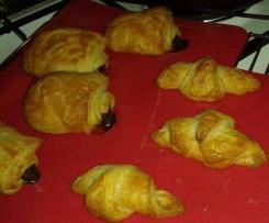 Pate levée feuilletée pour croissants