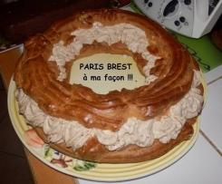 Paris Brest à ma façon (chantilly praliné et pralin)