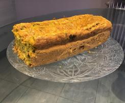 Cake salé aux carottes