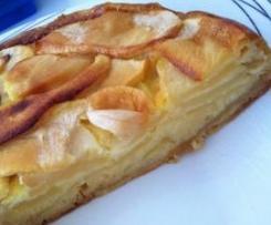 Gâteau fondant aux pommes
