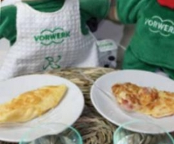 Omelette au fromage ou/et au jambon - Baby Thermomix