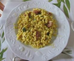 Blesotto chorizo et courgette