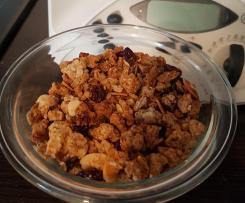 Granola miel et fruits secs