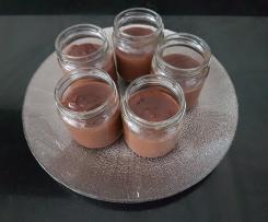 Crème dessert ferme et fondante poire chocolat <3
