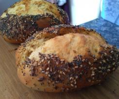 Petits pains au lait fermenté et graines : extra moelleux