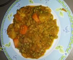 Légumes aux épices tandoori