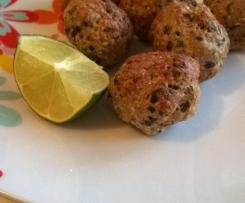 Variante Boulettes de cabillaud aux olives noires