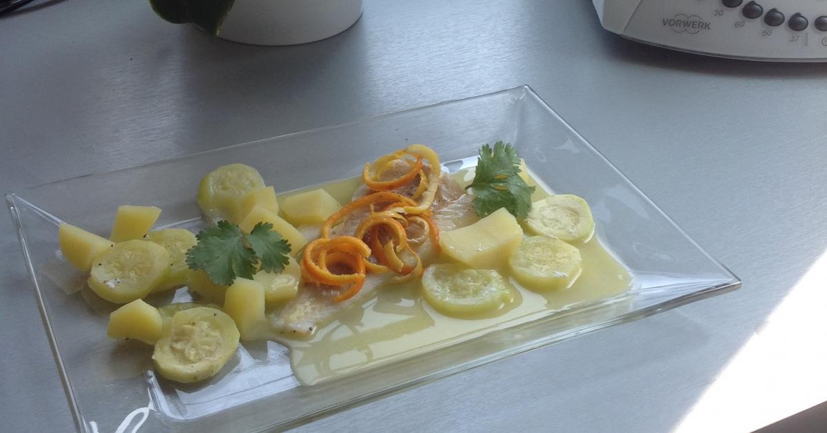 Poisson au beurre d 39 agrume par ch rizien une recette de fan retrouver dans la cat gorie - Beurre d escargot thermomix ...
