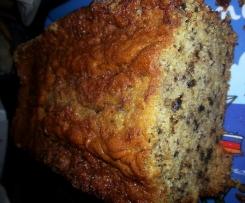 Cake à la banane et noix