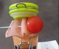 Verrine de melon onctueuse