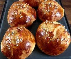 Mounas ou brioches de Pâques de Gisèle