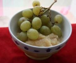Compote Pomme/raisin (sans sucre) {à partir de 6 mois}