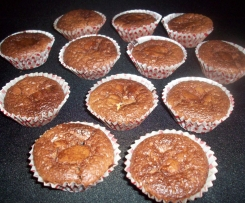 minis mouelleux chocolat au coeur chocolat blanc