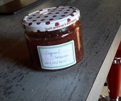 Confiture bananes figues