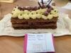 Forêt Noire revisitée au Chocolat Blanc et sa Crème Anglaise au Kirch-Chantilly