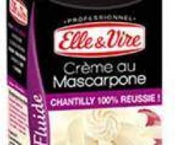 Crème chantilly au mascarponne