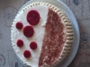 Bavarois chocolat blanc framboise