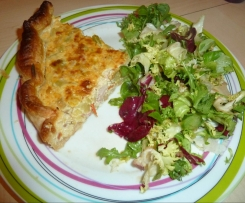 Quiches légumes/lardons