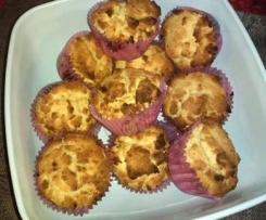 Muffins sans gluten au Nutella