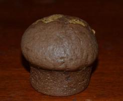 Muffins au chocolat, cœur speculoos