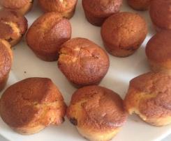 Muffins Nutella et pépite de chocolat