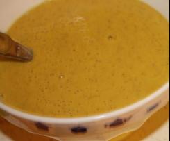 Soupe d'automne aux légumes variés