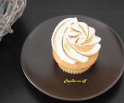Cupcake au citron meringué
