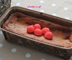 Cake aux fraises tagada sans oeufs (spécial allergique)