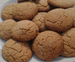 Biscuits canelle gingembre sans lactose