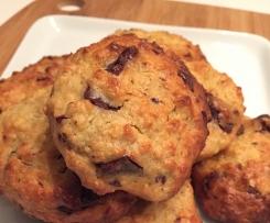 Cookies aux flocons d'avoine aux chocolat