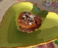 Moelleux au chocolat et crème de marrons sans farine