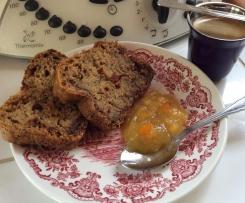 Cake aux courgettes amandes chocolat agrumes