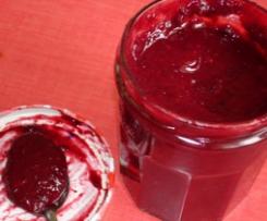 confiture de fruit rouge a l'agar