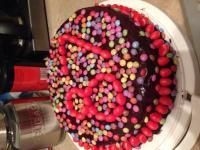 Gâteau nutella poire