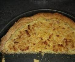 tarte à l'oignon light et sans vin blanc