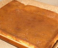 far breton (dont la farine ne retombe pas au fond du moule lors de la cuisson)