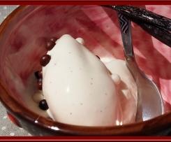 Crème glacée au mascarpone vanillé