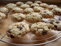 Cookies aux smarties et pépites de chocolat