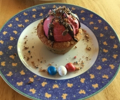 COOKIE CUP ET SORBET FRAMBOISE