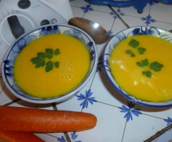 Velouté de carottes sweet et spicy