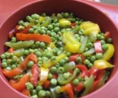 Clafoutis aux petits légumes