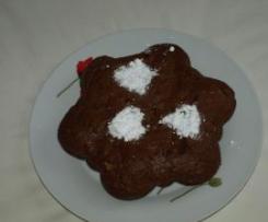 Gâteau fleur au chocolat et corn flakes