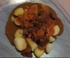 Mon bourguignon et ses pommes de terre