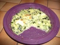 gratin courgettes mozzarella