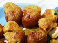 muffins légumes chorizo noisettes