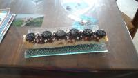 roulé au Nutella décoration faite par mes zouzous