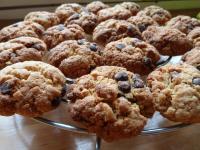 Cookies beurre de cacahouète et pépites de chocolat