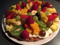 Tarte gourmande aux fruits frais